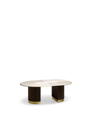 Aim Oval Coffee Table