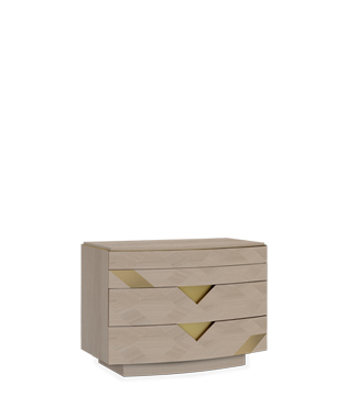 Avalon Gold Chest of Drawers