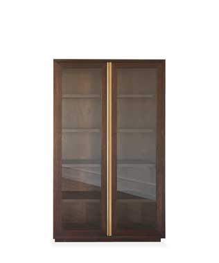 Elements - Modern Furniture - Gold Showcase