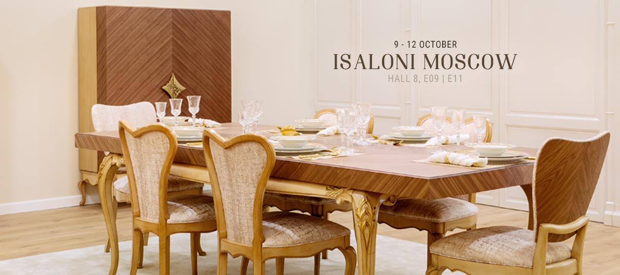 AMclassic Furniture Isaloni Moscow 2019